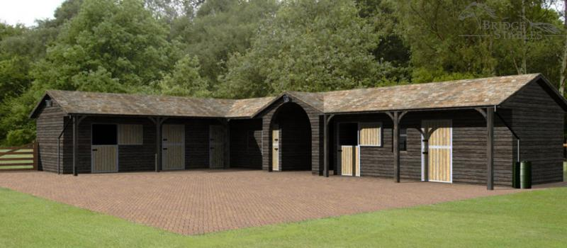 Timber Stables Stables For Sale Equestrian Stables