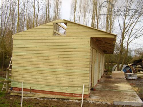 Four Room Timber Stable